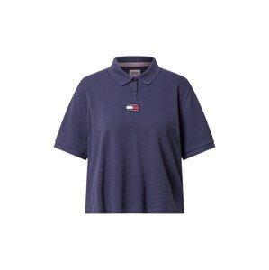 Tommy Jeans Tričko  námořnická modř / bílá / červená