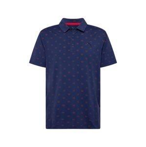 PUMA Funkční tričko 'Bandit'  námořnická modř / tmavě červená