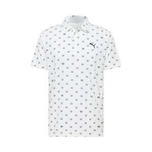 PUMA Funkční tričko  bílá / černá