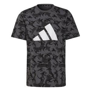 ADIDAS PERFORMANCE Funkční tričko  antracitová / bílá