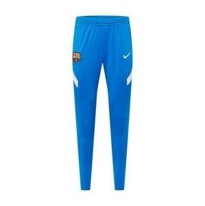 NIKE Sportovní kalhoty  bílá / královská modrá