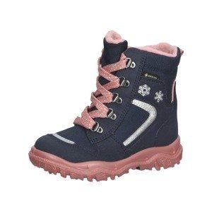 SUPERFIT Sněhule 'HUSKY'  pink / noční modrá / stříbrně šedá