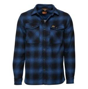 Superdry Košile 'Miller'  modrá / noční modrá