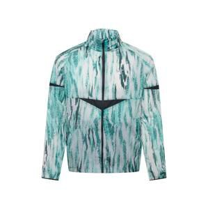 NIKE Sportovní bunda 'Wild Run'  bílá / tyrkysová / petrolejová