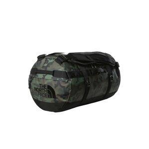 THE NORTH FACE Cestovní taška  olivová / černá / khaki