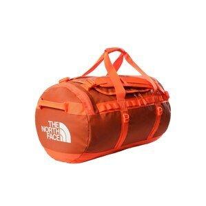 THE NORTH FACE Cestovní taška  tmavě oranžová / bílá