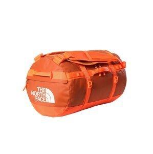 THE NORTH FACE Cestovní taška  oranžově červená / bílá