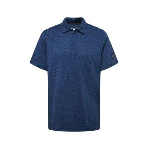 adidas Golf Funkční tričko  marine modrá / noční modrá