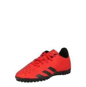 ADIDAS PERFORMANCE Sportovní boty 'Predator Freak'  červená / černá
