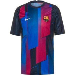 NIKE Funkční tričko 'FC Barcelona'  tmavě modrá / malinová / bílá / modrá