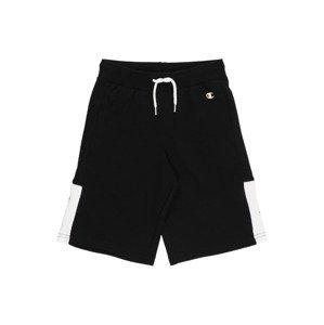 Champion Authentic Athletic Apparel Kalhoty  černá / bílá / červená