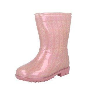 River Island Gumové holínky  pink / světle růžová