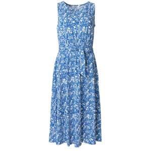 Indiska Letní šaty 'Brita'  modrá / bílá