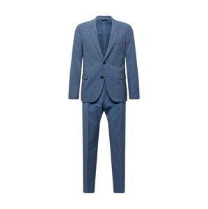 HUGO Oblek 'Anfred/Howard212'  nebeská modř / černá / bílá