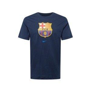 NIKE Funkční tričko 'FC Barcelona'  námořnická modř / žlutá / červená / modrá / bílá