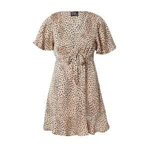 Parallel Lines Letní šaty  champagne / černá