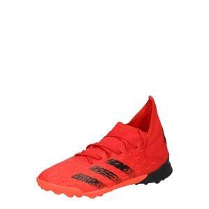 ADIDAS PERFORMANCE Sportovní boty 'PREDATOR FREAK .3'  červená / černá