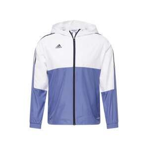 ADIDAS PERFORMANCE Sportovní bunda 'TIRO'  kouřově modrá / přírodní bílá / černá
