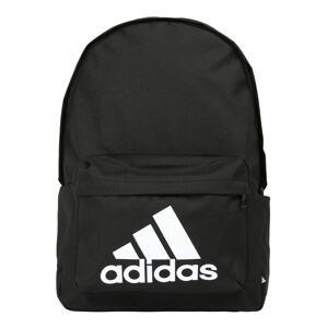 ADIDAS PERFORMANCE Sportovní batoh  černá / bílá