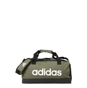 ADIDAS PERFORMANCE Sportovní taška  olivová / černá / bílá