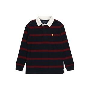 Polo Ralph Lauren Tričko  námořnická modř / vínově červená / bílá