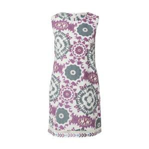 Derhy Letní šaty 'CALIGULA'  fialová / bílá / chladná modrá