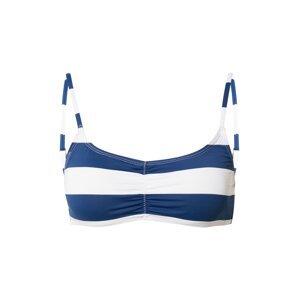 Cotton On Body Horní díl plavek  modrá / bílá