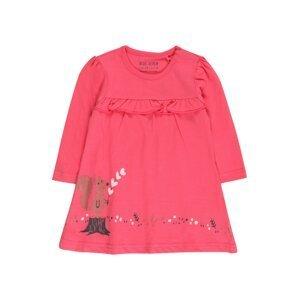 BLUE SEVEN Šaty  tmavě růžová / mix barev