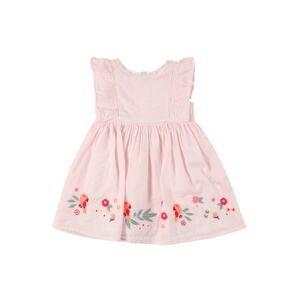 STACCATO Šaty  pink / bílá / mix barev
