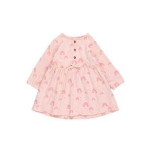 STACCATO Šaty  světle růžová / žlutá / pink / kouřově modrá