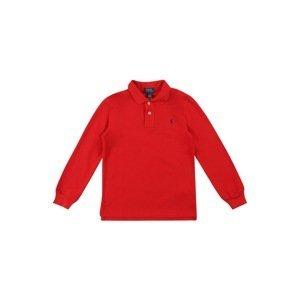 POLO RALPH LAUREN Tričko  červená / tmavě modrá