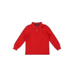 POLO RALPH LAUREN Tričko  červená / marine modrá