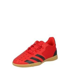 ADIDAS PERFORMANCE Sportovní boty 'PREDATOR FREAK .4'  červená / černá