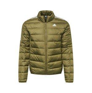 ADIDAS PERFORMANCE Outdoorová bunda  olivová / bílá