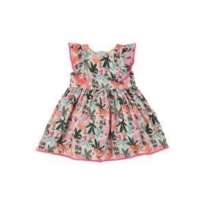 STACCATO Šaty  mátová / zelená / pink / korálová / růžová