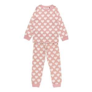 BLUE SEVEN Pyžamo  bílá / růžová