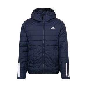 ADIDAS PERFORMANCE Sportovní bunda  bílá / marine modrá