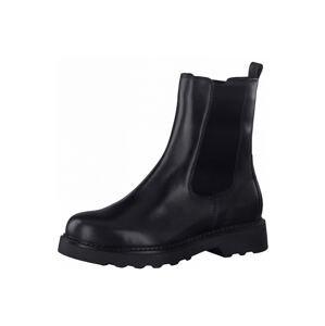 Tamaris GreenStep Chelsea boty  černá