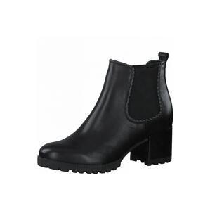 TAMARIS Chelsea boty  černá