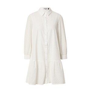 Chi Chi London Košilové šaty  přírodní bílá