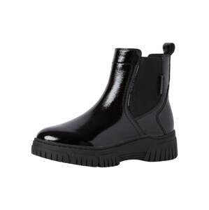 Tamaris Pure Relax Chelsea boty  černá