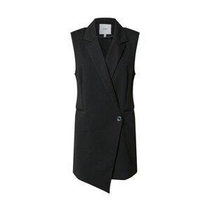 ICHI Vesta k obleku 'Kate'  černý melír