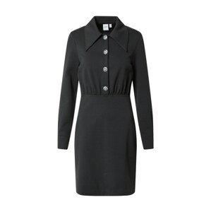 ICHI Košilové šaty 'Kate'  černá