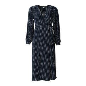 Indiska Šaty 'Edla'  námořnická modř / bílá