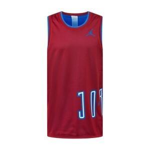 Jordan Funkční tričko 'Sport DNA'  červená / nebeská modř / bílá