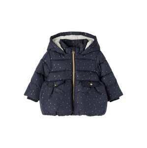 NAME IT Přechodná bunda 'Matilda'  námořnická modř / žlutá