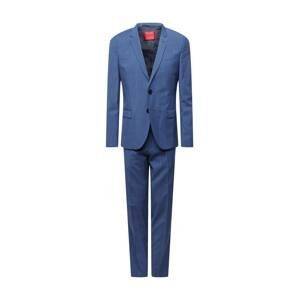 HUGO Oblek  modrá