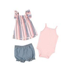 Carter's Sada  světle růžová / modrá / námořnická modř / bílá / korálová