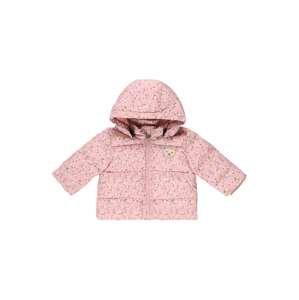 Steiff Collection Přechodná bunda  růžová / bílá / žlutý melír / modrá