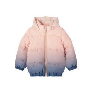 NAME IT Zimní bunda 'NMFMIP'  modrá / růžová